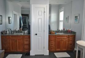 New Home Master Bath Sinks