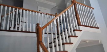 New Home Stairs - SF Ballou Construction Company