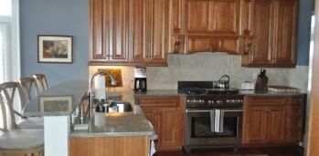 New Home Kitchen - SF Ballou Construction Company