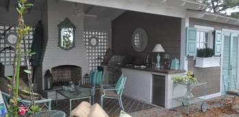 Kincheloe Outdoor Kitchen - SF Ballou Construction Company