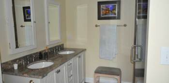 Pine Knoll Shores Bathroom - SF Ballou Construction Company