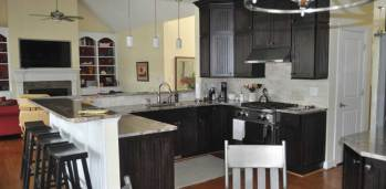 Pine Knoll Shores Kitchen - SF Ballou Construction Company