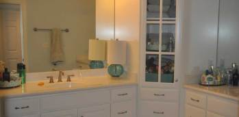Brassfield Bathroom - SF Ballou Construction Company