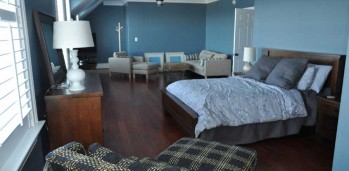 New Home Bedroom - SF Ballou Construction Company