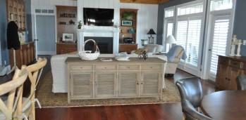 New Home Living Room - SF Ballou Construction Company