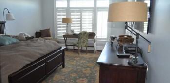 New Home Master Bedroom - SF Ballou Construction Company
