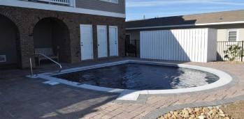 New Home Pool - SF Ballou Construction Company